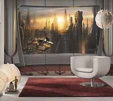 Géant Papier Peint photo Mural Poster Star Wars Coruscant vue Kids Room 368x254cm