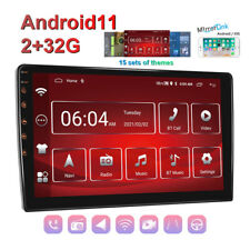 """10.1"""" Android 11 Car Stereo Radio GPS Navigation 2+32G USB FM / RDS Mirror Link"""