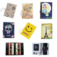 Travel ID Cards Passport Holder Ticket Document Protector Cover Case Bag Wallet