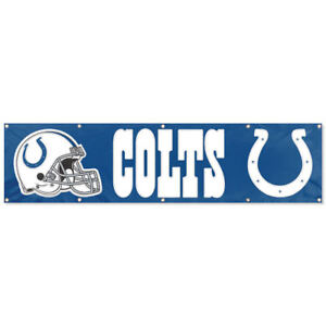 Indianapolis Colts Large 8 Feet Banner