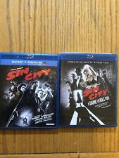 Sin City And Sin City A Damn To Kill For 2 Blu-Ray Lot