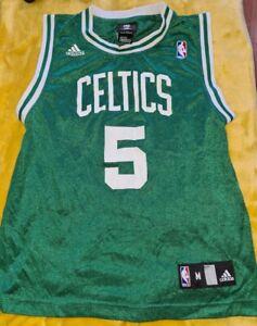 Boston Celtics Kevin Garnett Adidas NBA Jersey Womens Medium Size 10 - 12