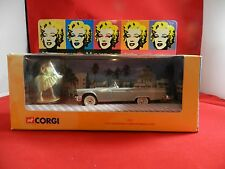 Marilyn Monroe CORGI 39902 Ford Thunderbird & Monroe Figure *NEW IN THE BOX*