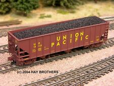 Hay Bros LOW PROFILE FLOOD LOADED COAL LOAD - Fits Micro-Trains 100-Ton Hoppers