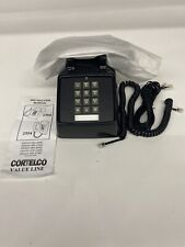 Cortelco Black Desk Vintage Retro Push Button Telephone 250000-VBA-20MD