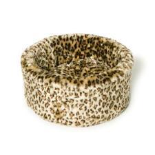 Danish Design Cosy Cat Bed - Leopard Print - M