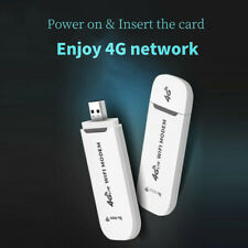 4G LTE USB Modem Network Adapter With SIM Card Wi-Fi Hotspot 4G Wireless Router