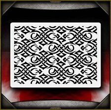 Tribal Pattern Airbrush Stencil Template Airsick