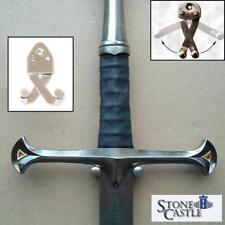 Quality Scissor Action Metal Holder. Perfect For Sword or Dagger Wall Displaying