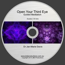 Guided Meditation CD to Open Your Third Eye by Jan-marie Soothing Music & Voice