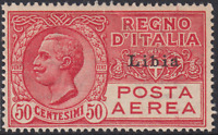 Italy Libia - Air Mail A 1 - cv 150$  Super Centered MNH**