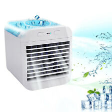 3 in 1 Mini Portable Air Conditioners w/Led Light 3 Speeds Desktop Cooling Fan