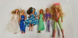 Vintage Lot Of Miniature Barbies