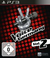 The Voice Of Germany Vol. 2 PS3 Neu & OVP