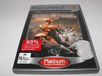 God of War PS2 (Platinum) PAL *Complete*