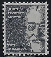 US Stamps - Scott # 1295 - $5 John Bassett Moore - MNH - VF              (H-003)