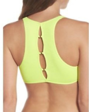NEW Free People Intimately Seamless Chalice Bra in Yellow Sz XS/S-M/L $60