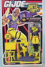 GI Joe Battle Corps Dr. Mindbender Vintage Action Figure