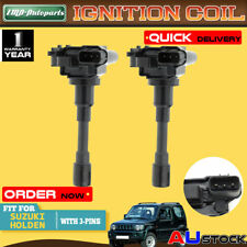 2x Ignition Coil For Holden Cruze Suzuki Jimny/Grand Swift Baleno Carry 1998-on