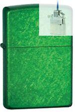 Zippo 24840 meadow green Lighter & Z-PLUS INSERT BUNDLE
