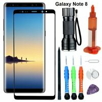 For Samsung Galaxy Note 8 Replacement Front Glass Screen Lens Repair Tools Glue