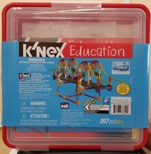 KNEX  Education STEM Intro To Structures Bridges Set 78640 & free mini set~NEW~