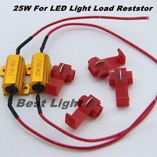 4Pcs Load Resistor 25W 8ohm Fix LED Bulb Hyper Flash Turn Signal Blinker