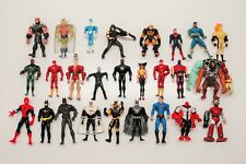 "HUGE lot of 26 vintage 5"" Superhero & Other Action Figures For Charity"