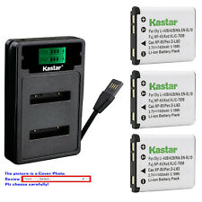 Kastar Battery LZD2 Charger for Fuji NP-45 NP-45A 45B 45S Fujifilm FinePix JZ100