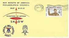 1962 Scouting in Action Show Cachet Envelope Philadelphia Council PA