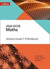 AQA GCSE Maths Achieve Grade 7-9 Workbook by SU Nicholson 9780008271268