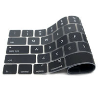 "US Waterproof Dustproof Silicone Keyboard Cover For 2018 / 2016 Macbook 13""15"""