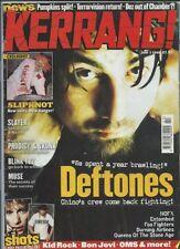 Kerrang! June Monthly Music, Dance & Theatre Magazines