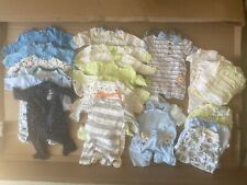 Baby boy size 0-3 months clothes lot: 35+ pieces, Include Gerber, More