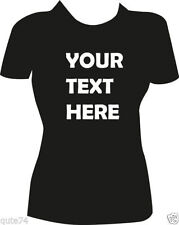 Unbranded Personalized Tees 100% Cotton T-Shirts for Women