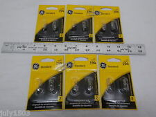 Twelve (12) GE 194 Miniature Lamp Bulb 4w T3-1/4 12 volt 12v Free Shipping