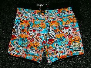 MAMBO AUSTRALIA Board Shorts Mens Size XL 36 Boardshorts LIMITED EDITION RARE