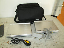 Minteck Portable Dvd Player Bundle, 2 Players, Cords, Case, See Details