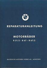 BMW Werkstatthandbuch/ Reparaturanleitung R 51, 67, 67/2 ; R51/3 R67 R67/2 ; neu