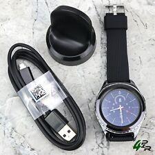 Samsung Gear S2 Classic SM-R735V (Verizon) Smart Watch New Silicone Black Band