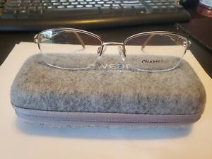 NEW Charmant CH10832 DO Brown Gold Women's  Titanium Eyeglasses 52-18-135