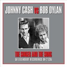 The Singer & The Song by Johnny Cash/Bob Dylan (CD, Jan-2014, 2 Discs, Not...
