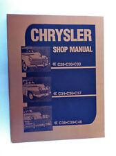 1941-1948 Chrysler Shop Manual