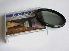 KOOD 37MM SUPER SLIM MOUNT CIRCULAR POLARISING FILTER C-PL PLC CPL