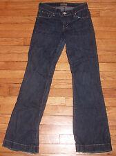 See Thru Soul Distressed Blue Jeans $50+ NWOT Sz 25 30x31 Flare p540