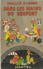 EO F. RAUZENA PASTICHE SHERLOCK HOLMES + ARSÈNE LUPIN DANS LES MAINS DU SERPENT