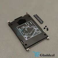 NEW HP EliteBook 2560p 2570p SATA Hard Drive Caddy with Connector screws US