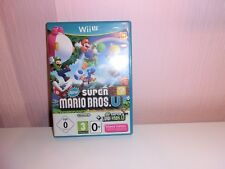 NEW SUPER MARIO BROS. U + New Super Luigi U (Nintendo Wii U, 2016, DVD-BOX)