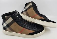Brand New BURBERRY PAINTON HIGH TOP CHECK Sneaker UK 5, EUR 39