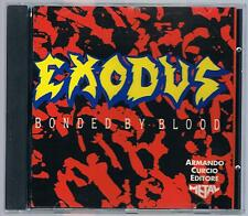 EXODUS  BONDED BY BLOOD CD ARMANDO CURCIO ED.